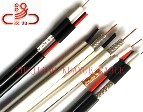 2c Power Coaxial Cable Rg59/RG6/Computer Cable/ Data Cable/ Communication Cable/ Connector/ Audio Cable