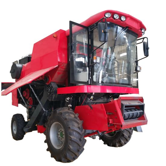 Agricultural Farm Wheel Type Combine / Combining Corn Harvester 4yl-5
