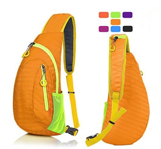 Unisex Waterproof Durable Scratch-Resistant Sport Chest Shoulder Backpack  Sling Bag pictures   photos 44ea58b6df846