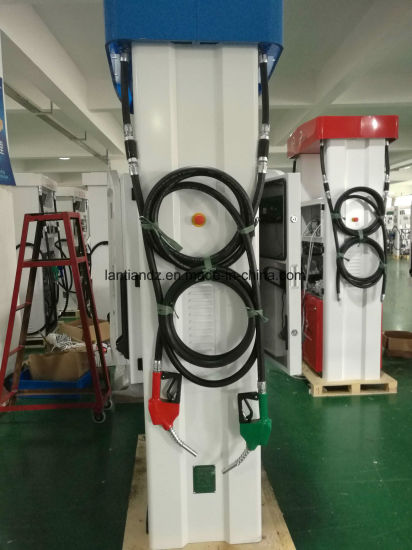 High Quality 2pump (submersible) -4flowmeter-4nozzle-4display-4keyboard of Rt-Hg224 Fuel Dispenser pictures & photos