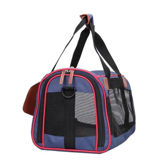 Pet Dog Soft Sided Travel Carrier Tote Bag, Outdoor Foldable Pet Sling Bag