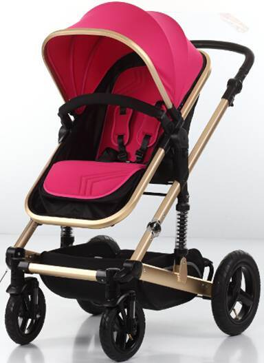 New Design Aluminum Frame Baby Stroller with European Standard pictures & photos