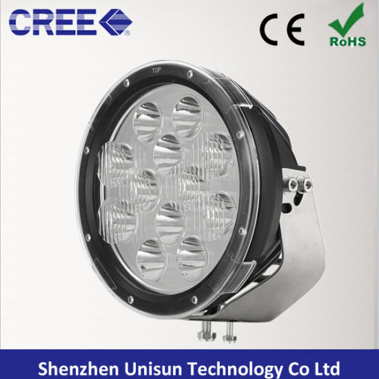 "12V-60V 9"" 120W 9600lm 12X10W CREE LED Driving Light pictures & photos"