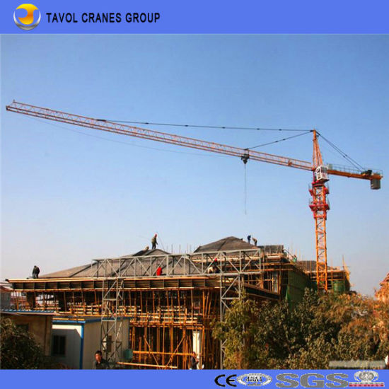 Chinese Low Price Mini Tower Crane of 6 Ton Top Kit Tower Crane pictures & photos