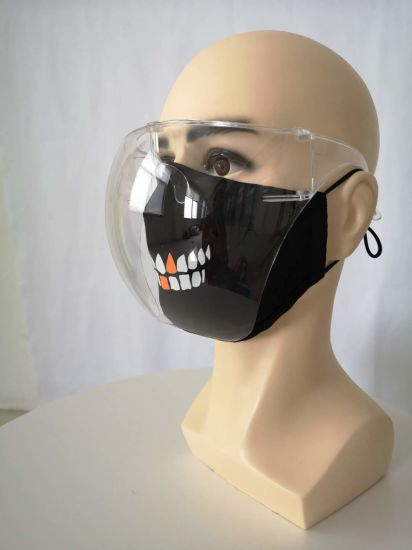 2020 Hot Sales PC Fashion Mask Face Covering with Face Shield