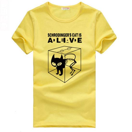Hot Sale Slim Fit Short Sleeve Printed Womens T-Shirts