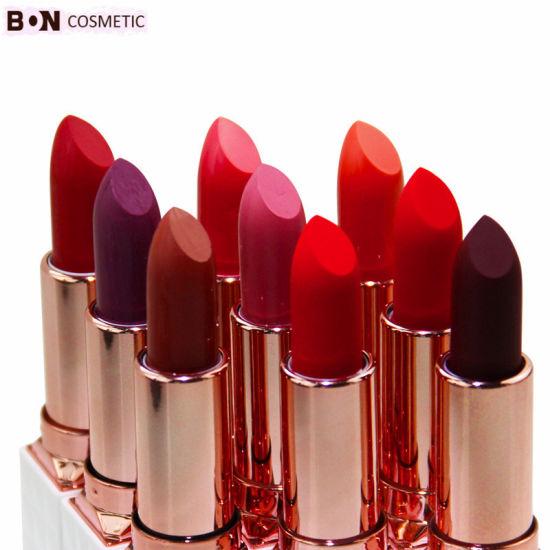Wholesale Private Label Makeup Natural Vegan Cosmetic Waterproof Matte Lipstick