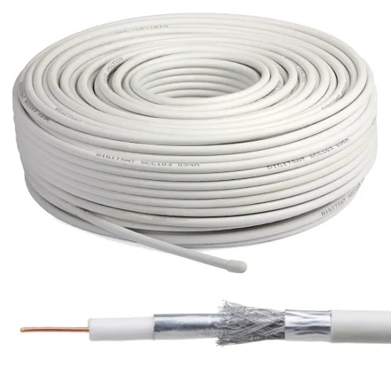 Cheap RG6 CCTV Cable for MID-East Market, RF Coaxial Cable