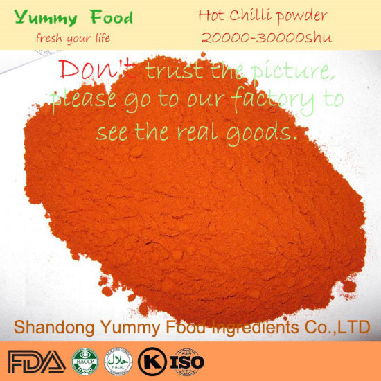 High Hot Level Dried Red Chilli Powder Pepper Supplier