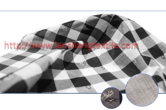 Dyed Jacquard T/C Polyester Cotton Fabric for Garment Shirt Dress pictures & photos