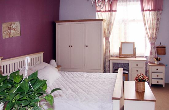 China Sinoah 721 Range White Solid Pine Bedroom Furniture ...