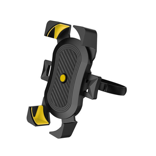Bike Handlebar Mount Phone Holder Auto Secure Lock Bicycle Phone Holder