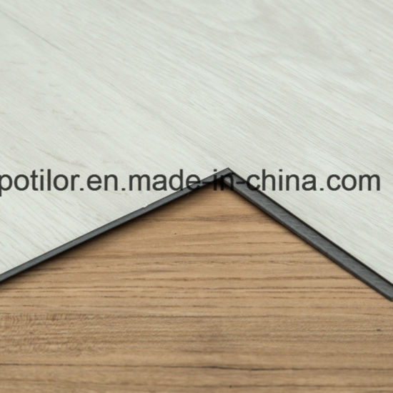 Anti-Scratch Lvt PVC Vinyl Click Flooring Tiles / Planks pictures & photos