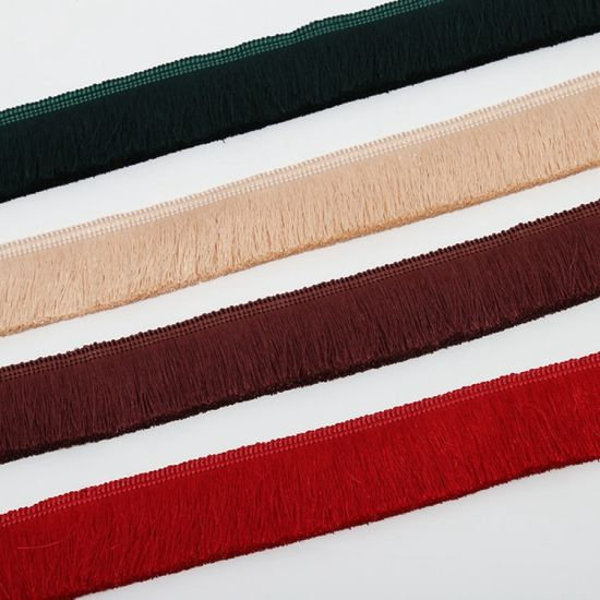 High Quality More Colors Curtain Fringe Trim for Curtain Decoration