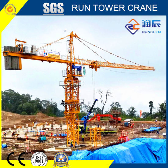 Rct7032-12 Topkit Tower Crane with Ce and SGS Certificate for Construction