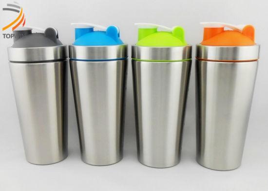Customized Logo 28oz Stainless Steel Water Bottle Protein Shaker