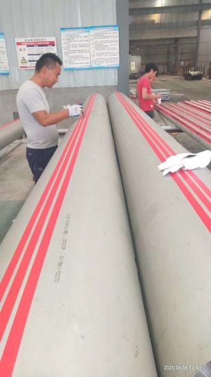 Seamless Stainless and Alloy Steel Pipe as ASTM A213/A312/A789 AISI 304/316L S31803 S32750