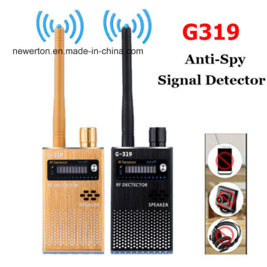 Wireless Scanner G319 Anti-Spy GPS RF Mobile Phone Signal Detector Device  Cameratracer Finder 2g 3G 4G Detector