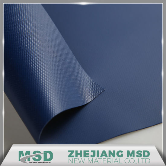 900GSM PVC Truck Curtain Side Fabric pictures & photos