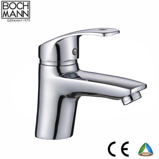 Zinc Basin Faucet and Chrome Color Bathroom Basin Mixer