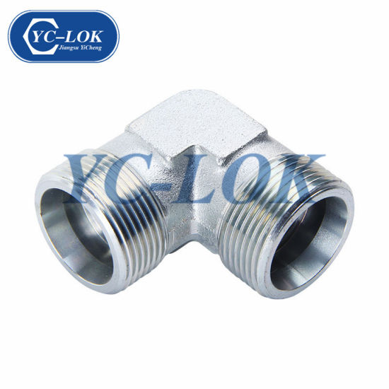 Hydraulic Fittings Carbon Steel 90 Degree Elbow Tube Fittings