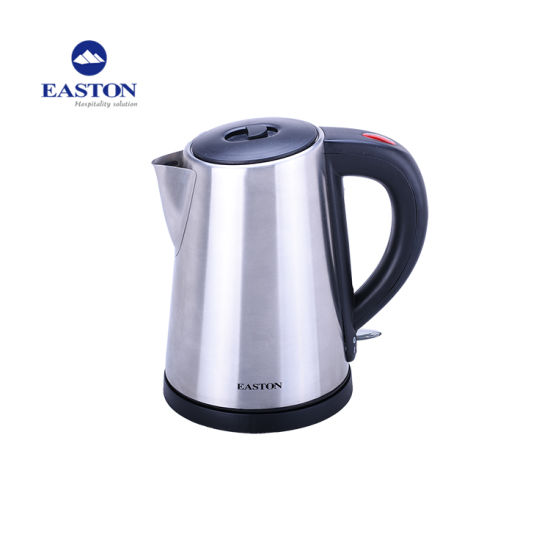 Commercial Hotel Stainless Steel Electric Kettle with Tray Set