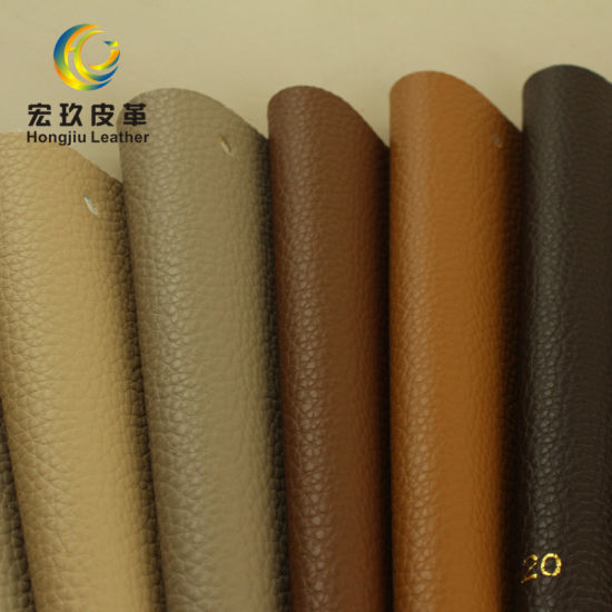 High Quality Embossed Pattern Synthetic Leather for Sofa Furniture Making