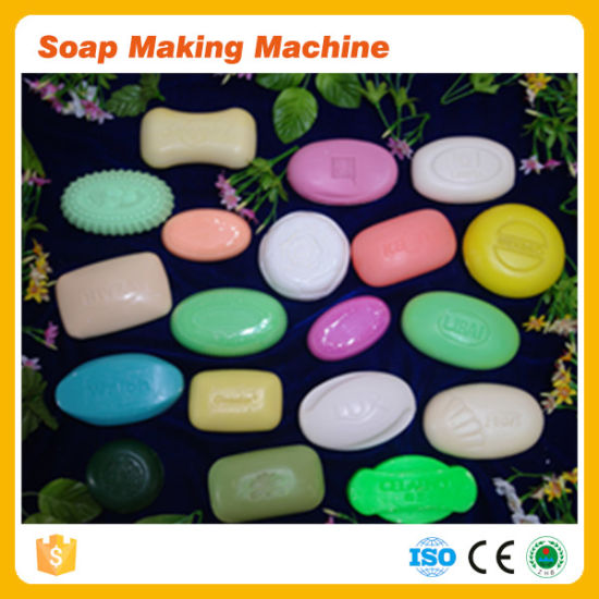 Ce Approved Small Toilet Laundry Bar Soap Make Machine Soap Making Equipment Machine Price