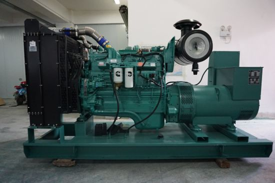 Ricardo 75kw Diesel Generator Set with Engine R6105zd Mechanical Governor  Type