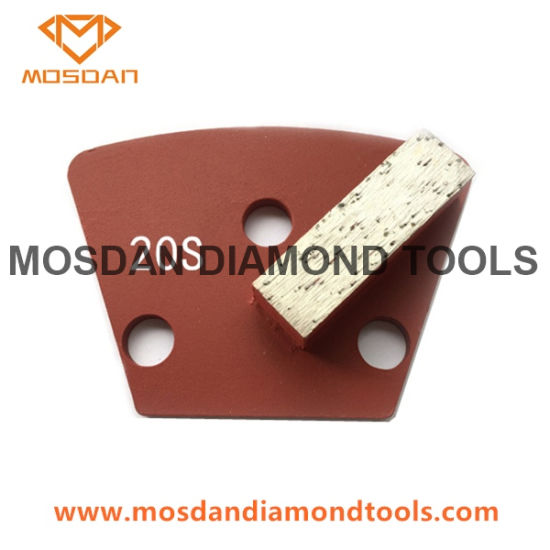 Trapezoid Single Bar Concrete Grinding Tools for Floor Prep