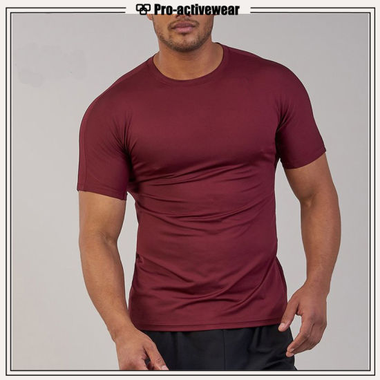 2017 Fitness Gym Muscle Tops Compression Men T Shirts