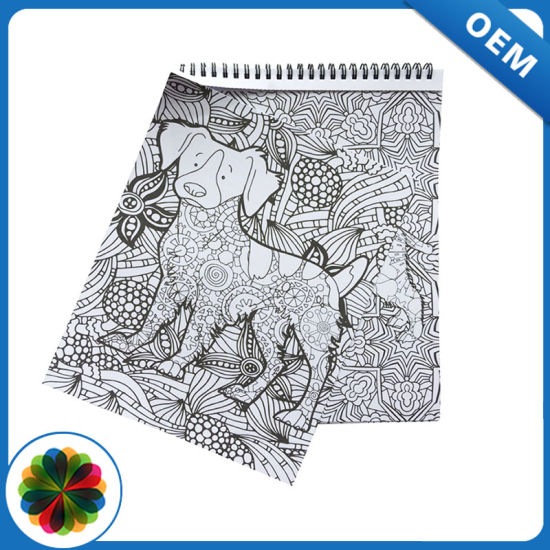 High Quality in Low Price Coloring Book Printing Service in Guangzhou China