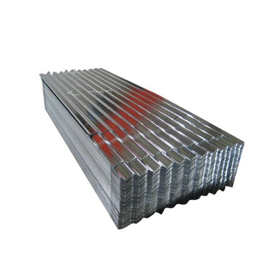 Building Material Dx51d Z30~Z275 Gi Metal Roofing Sheet in Ghana