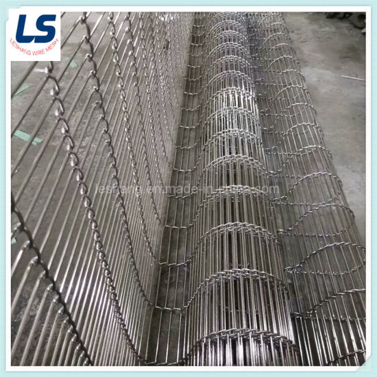 Metal Flat-Flex Conveyor Belts for High Temperature Resist pictures & photos