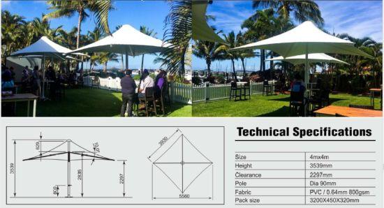 New Style Aluminum Garden Umbrella, Beach Umbrella, Patio Umbrella, Cafe Umbrella