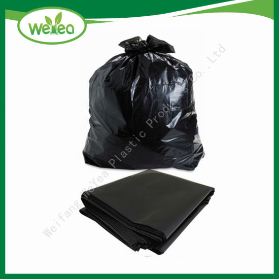China Eco Friendly Hdpe Cornstarch Plastic Garbage Bags