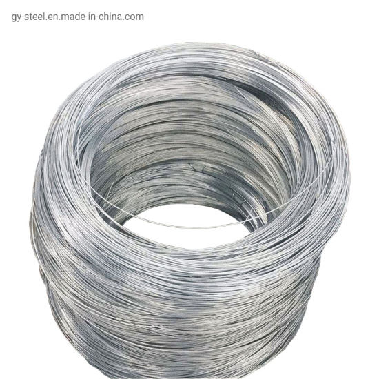 Hot Dipped Iron Gi Galvanized Steel Wire for Nail
