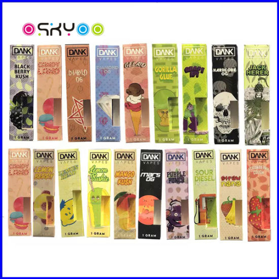 China New Arrival Electronic Cigarette G5 Dank Vapes Cbd