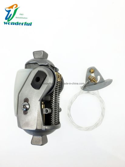 Single Axis Knee Joint with Manual Lock Stainless Steel Prosthetic Knee