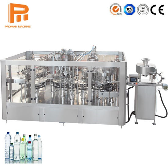 2000-8000bph Water Filling Machine/ Water Purification System for Round Bottle Mineral Water/Beverage Drinks Bottling Making Equipment / Production Line