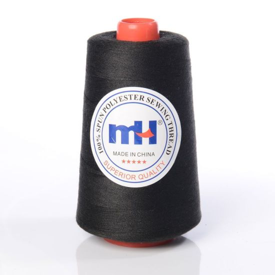 40/2 100% Spun Polyester Sewing Thread - Black