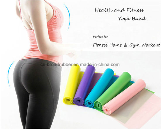 Private Label Hip Circle Mini Fitness Resistance Elastic Latex Bands