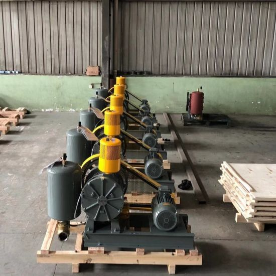 Dn80 Army Green Tohin Rotary Air Blower, Low Noise Waster Water Treatment Blower pictures & photos
