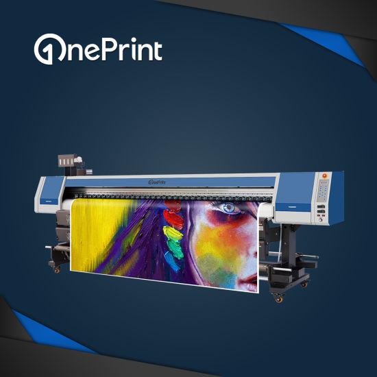 3.2m Large Format Eco Solvent Printer Oneprint Sj-3200 with Epson Dx5/Dx7/Dx8 Printhead