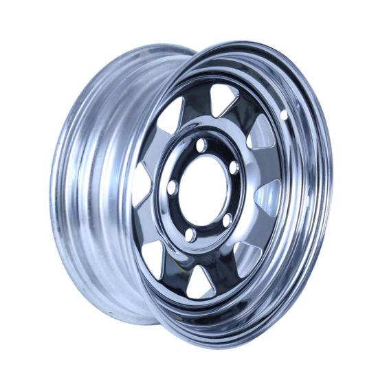 16 Inch Car Light Truck and Trailer Wheels Steel Wheel Rims