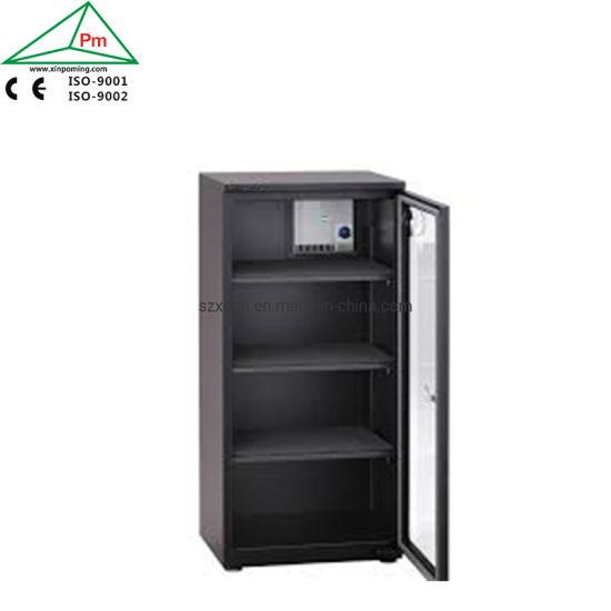 3 Adjustable Slide-out Trays Metal Nitrogen Storage Cabinets 163L