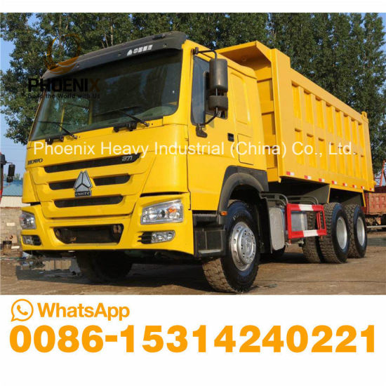 Excellent Condition 371HP Sinotruk HOWO Tipper 10 Tires Used Dump Truck for African Market