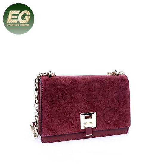 China Fashion Women Handbag Ladies Shoulder Bag with Chain Strap ... bb4ac132eb