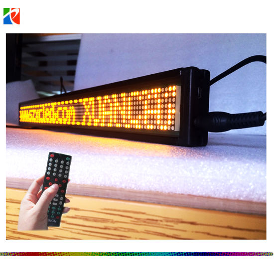 Good Quality Save 20% European Languages P4 Indoor LED Moving Information Display Board LED Moving Sign