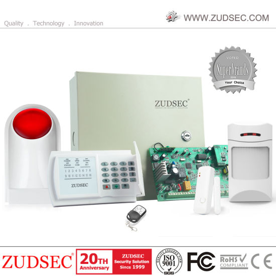 Business Auto Dial PSTN GSM Alarm System for Industrial Project